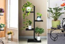 Изящно и утончённо: 16 восхитительных подставок для растений