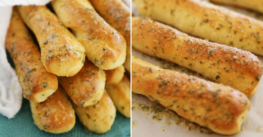 Рецепт закусочных чесночных палочек: точные пропорции для хрустящей корочки и пушистой мякоти.