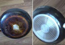 Простейший способ удаления застарелого нагара со сковороды, чтобы она сияла как новенькая