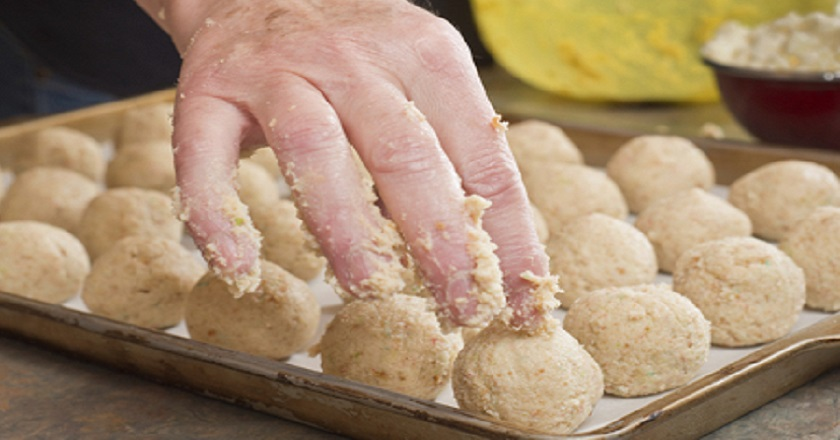 Способ приготовления печенья из трех ингредиентов