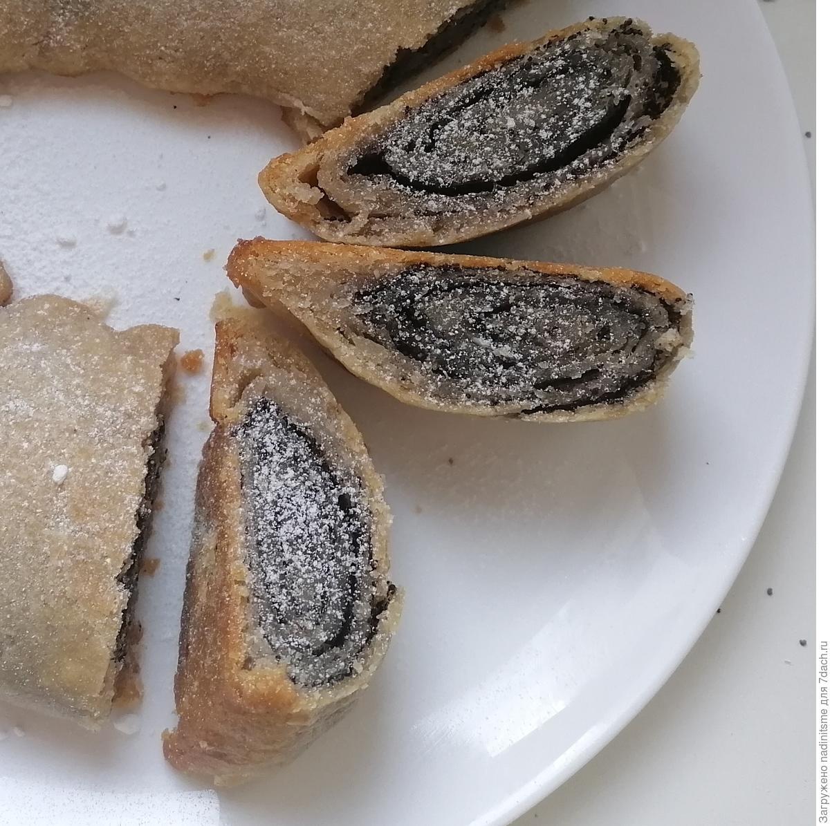 Постный пирог с маком по-монастырски