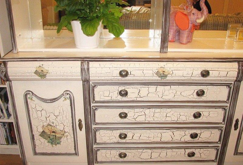 Как восстановить шкафы и серванты из прошлого века