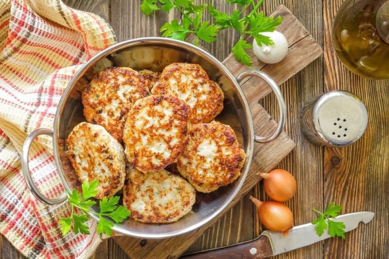 Рецепт котлет со вкусом мяса