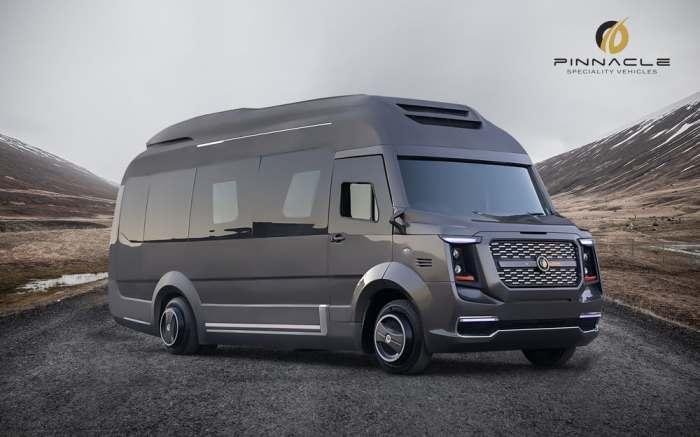 Фургон для путешествий: мрачный снаружи, но потрясный внутри