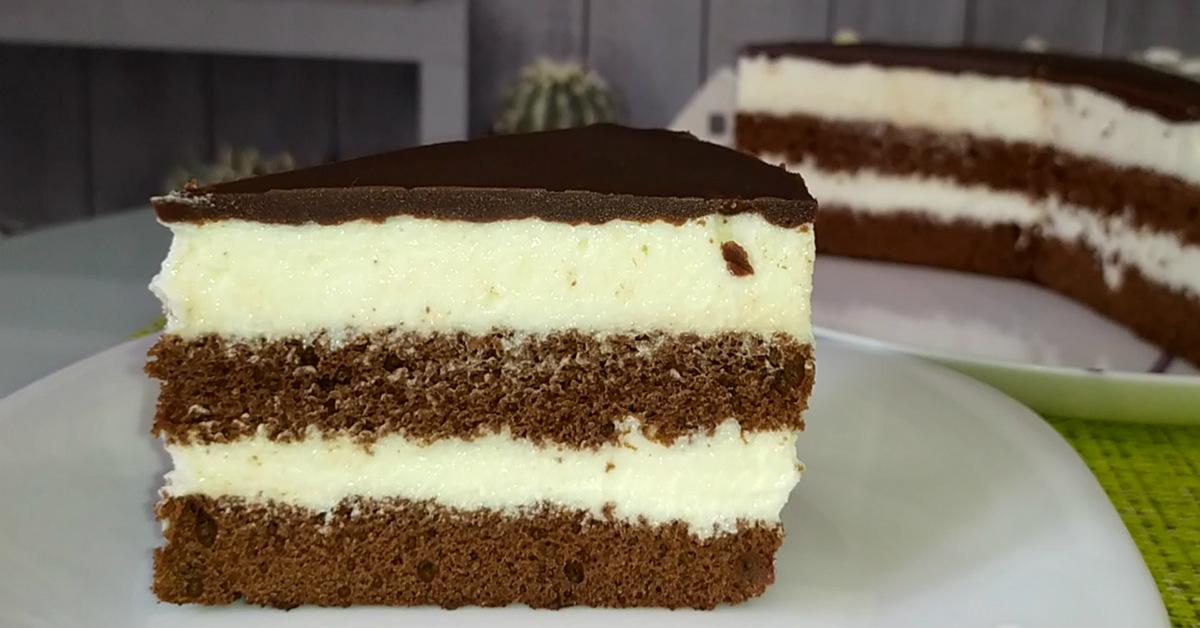 Как приготовить потрясающий торт «Милка»: по вкусу как знаменитый батончик