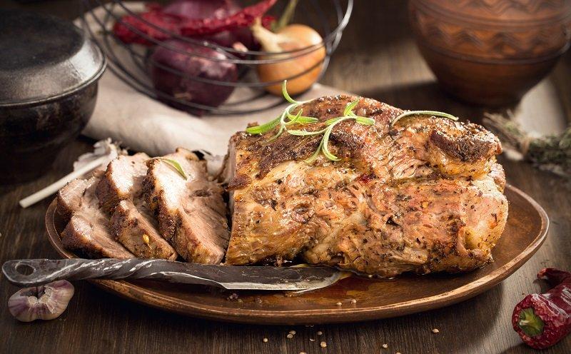 Как запечь большой кусок мяса, чтобы оно было вкусным и мягким