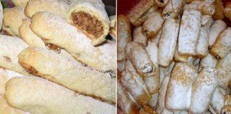 Как приготовить закарпатские кифлики из простого песочного теста и горсти грецких орехов