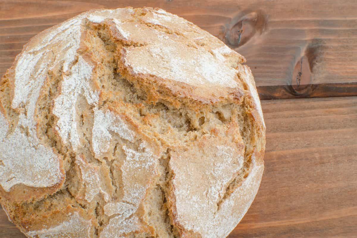 Рецепт бездрожжевого домашнего хлеба на кефире