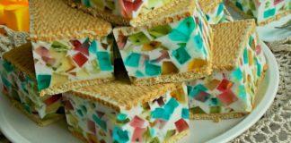 Как приготовить шикарный торт на скорую руку: 20 минут на смешивание, а потом сразу в холодильник.