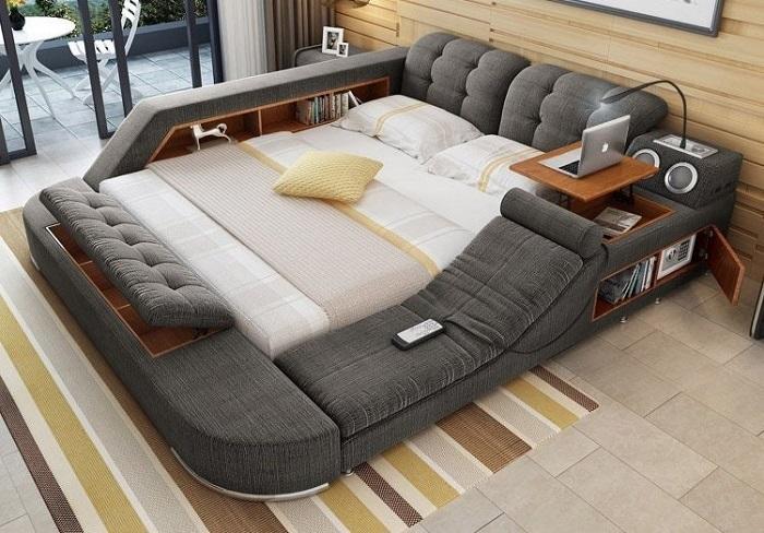 Кровать-офис, из которой можно не вылезать с утра до вечера