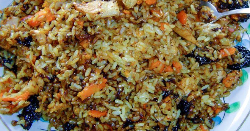 Узбекский плов с изюмом, барбарисом и тмином: по этому рецепту готовит Борис Бурда.
