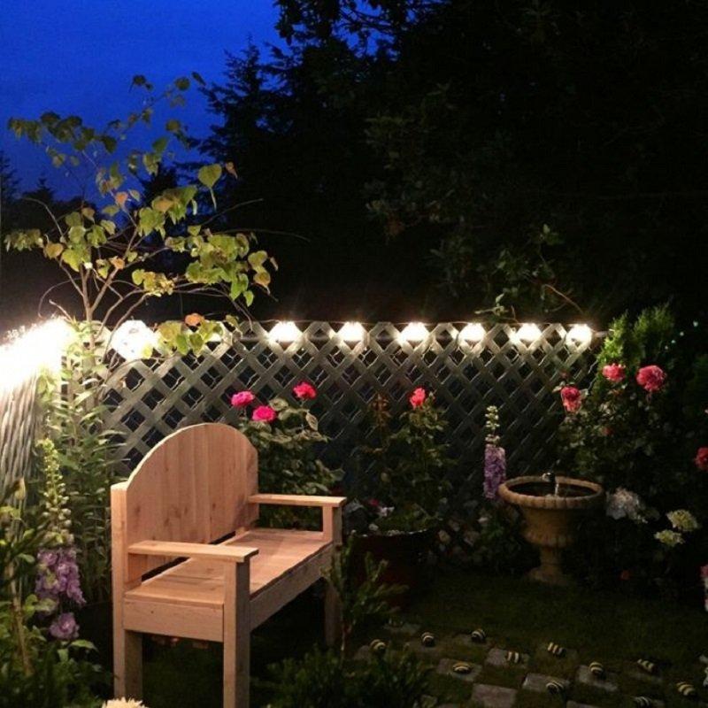 Как преобразить серый и скучный задний двор