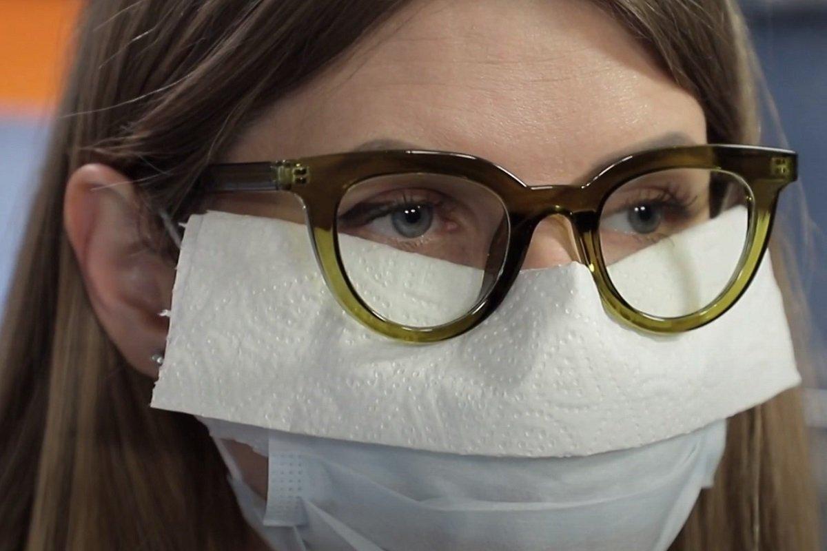 Как носить защитную маску, чтобы не запотевали очки