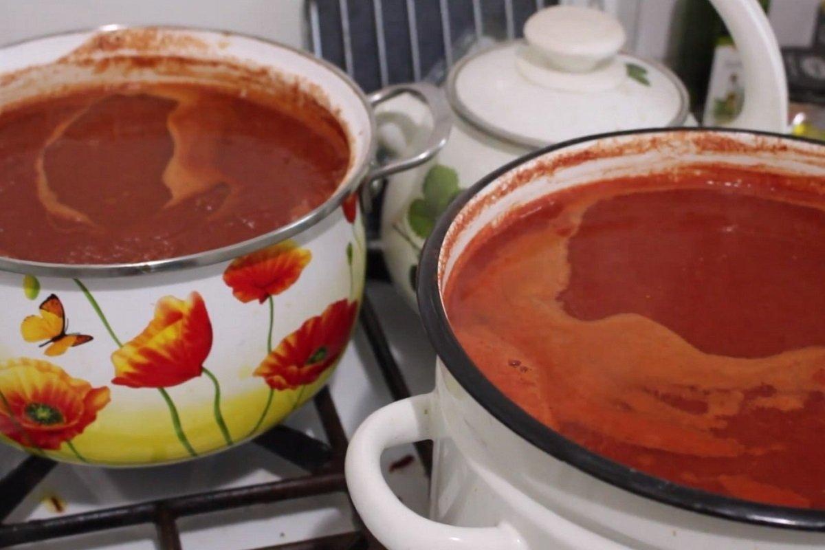 Домашний томатный сок без соковыжималки по простому рецепту