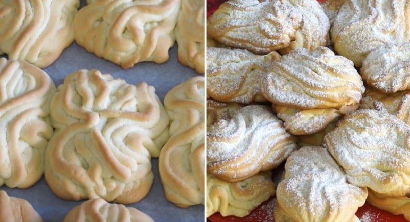 Инструкция по приготовлению печенья «Хризантема»