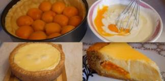 Абрикосовый пирог от Александра Селезнева без использования миксера