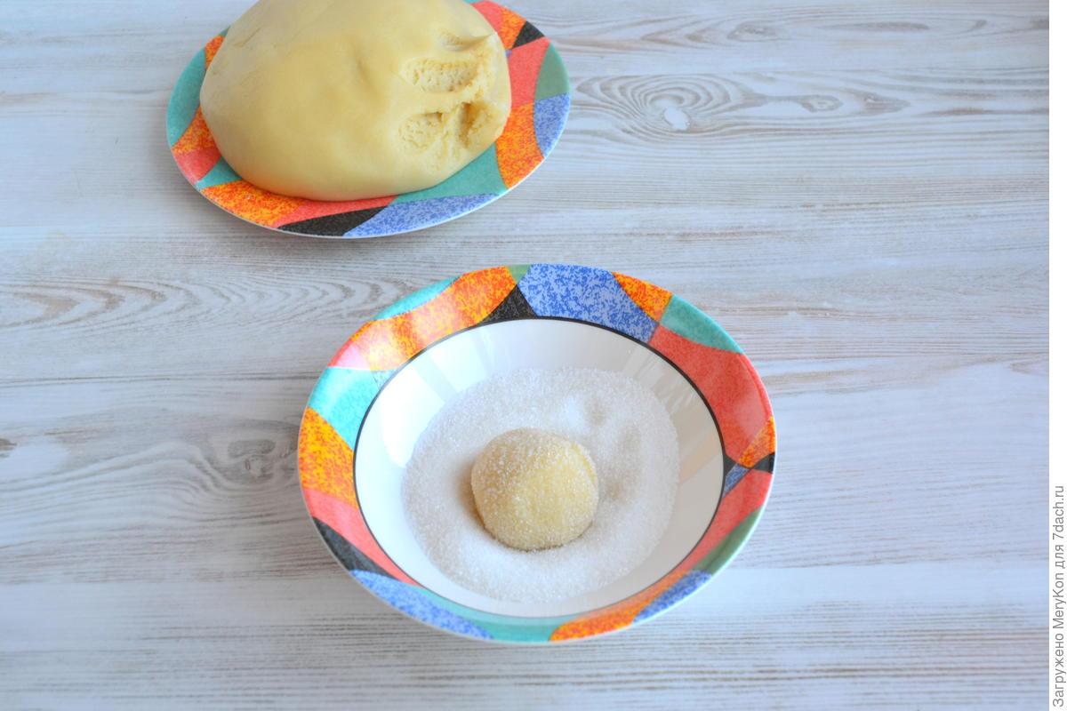 Печенье рассыпчатое быстрое